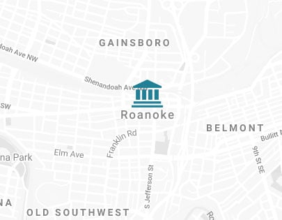 Roanoke map